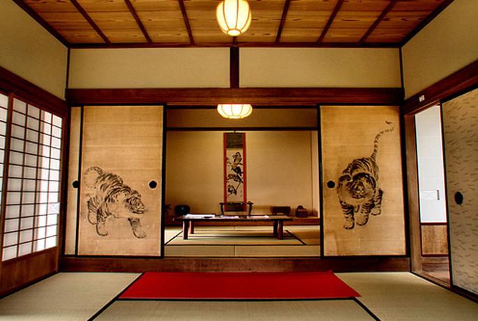 Decoracion japonesa tradicional for Casa clasica japonesa