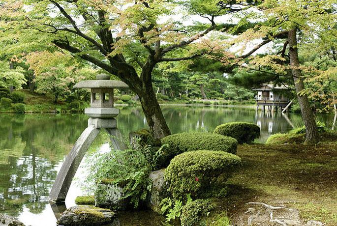 El jard n de kenrokuen hotel de lujo en espa a asia for Jardin kenrokuen
