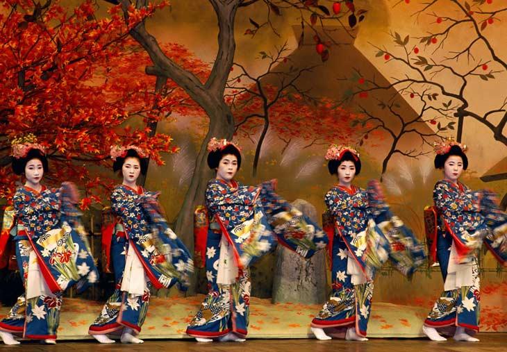 DANZAS TRADICIONALES JAPONESAS